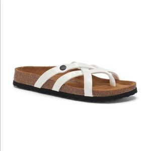New Betula Birkenstock Vinja White Sandals 37 6.5